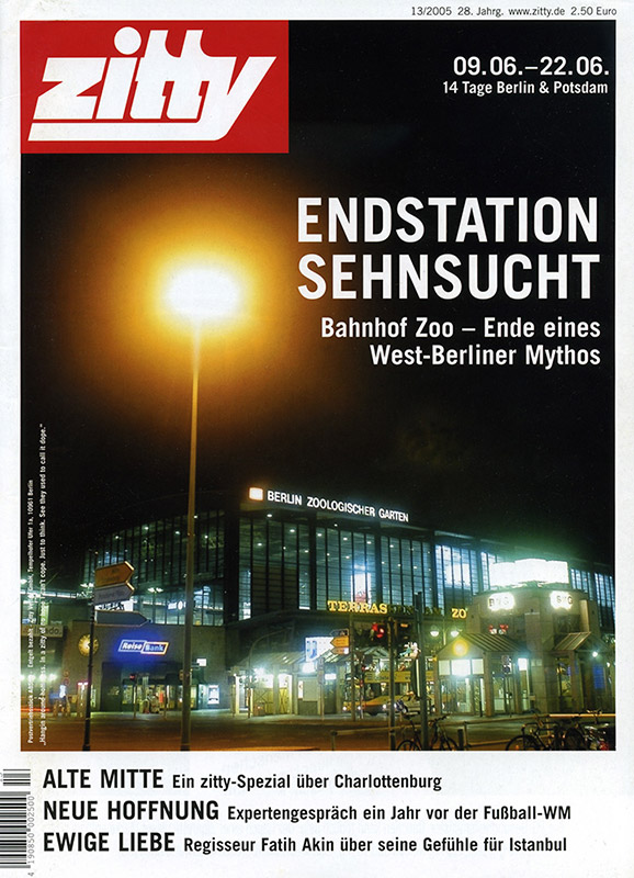 Cover ZITTY | Berliner Stadtmagazin